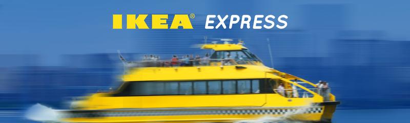 New York Water Taxi IKEA Express