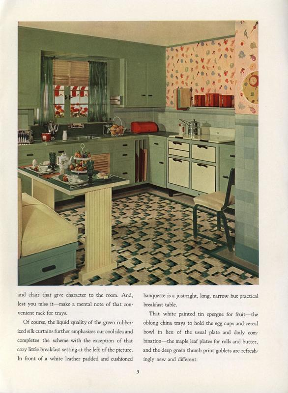Armstrong Dream Kitchen, 1935