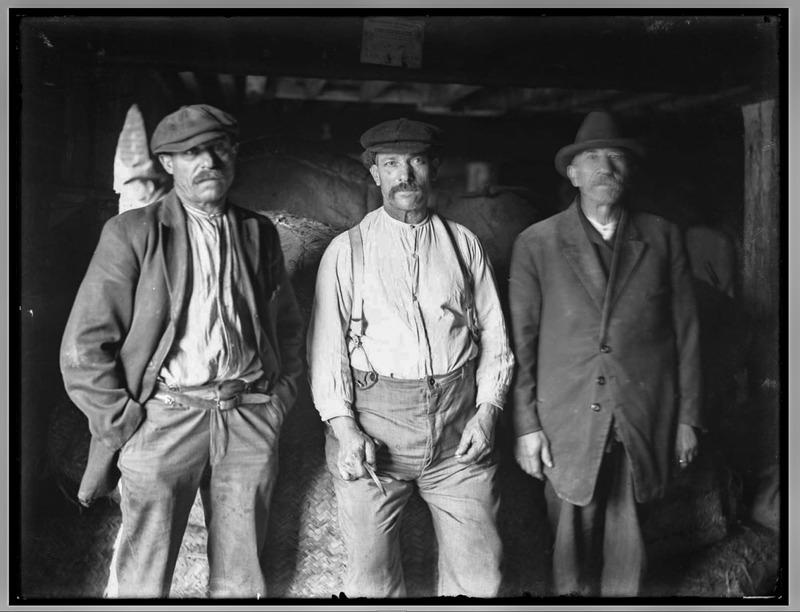 Italian Laborers at Pier 30, 1918