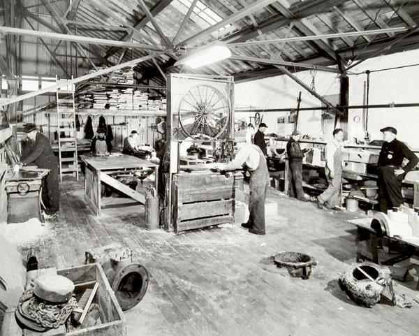 Ramberg carpenter shop,Rosenfeld Collection, 1942