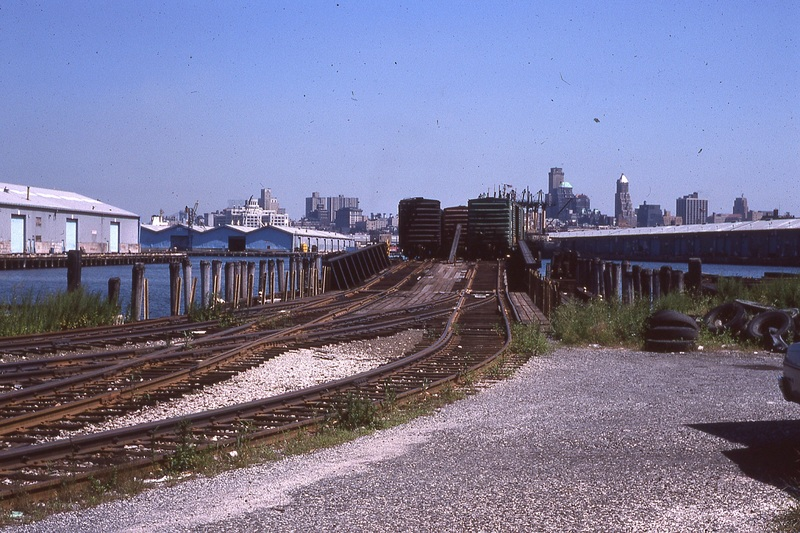 Looking North at the Float Bridge.  8/21/1978<br /><br />