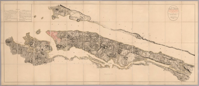 A 1782 map of New York, produced for the British Army.