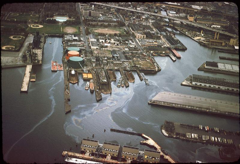 Bushey/Gowanus Bay in the 1970s