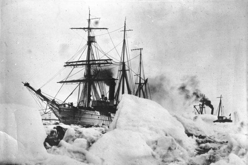 Byrd's Expedition to Antarctica - masts by the Brooklyn Spar Company.
