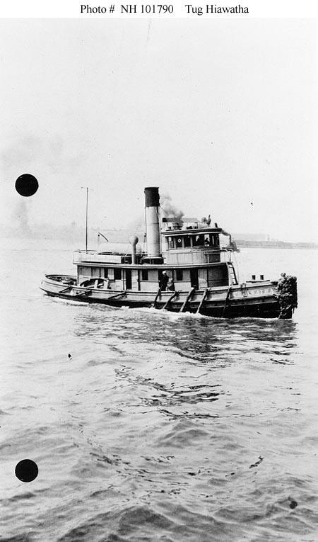 Tugboat Hiawatha, 1903